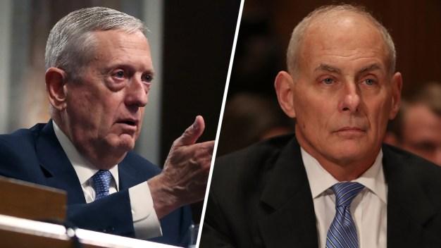 Senate Confirms Mattis, Kelly to President Trump's Cabinet