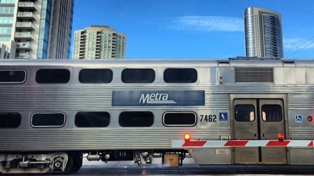 Trains on Metra's UP West Line to Be Delayed After Fire