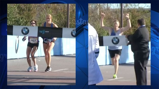 Student Helps Dallas Marathon Winner Cross Finish Line After She Collapsed