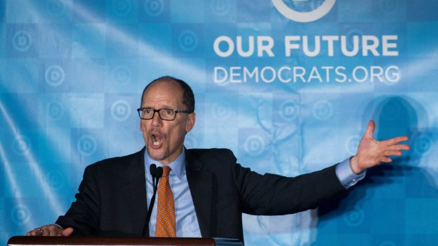 In DNC Shakeup, Perez Ousts Longtime Party Officials<br />