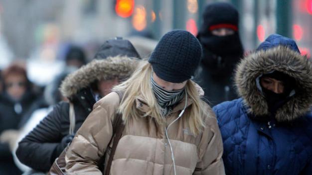 Polar Vortex Sends Temperatures Plunging