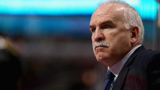 Quenneville Could Face Fine for Gesture Toward Officials