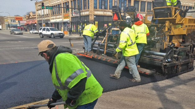 City Kicks Off Road Resurfacing Project