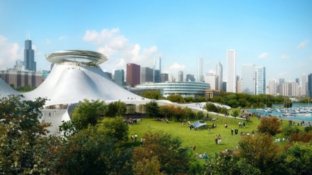 Judge to City: Don't Touch Lucas Museum Site Yet