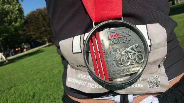 Chicago Triathlon 2019 Underway