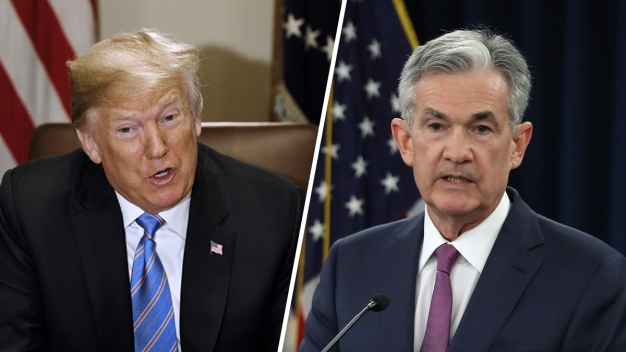 Trump Lays Into the Federal Reserve, Says He's 'Not Thrilled' About Interest Rate Hikes