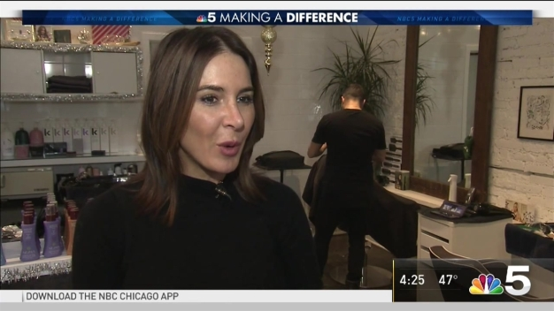 Local Hair Salon Celebrates '30 Days of Giving'