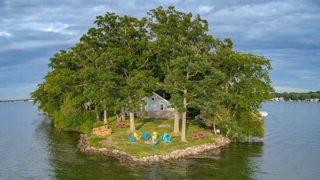 See the Incredible Wisconsin Private Island for Sale
