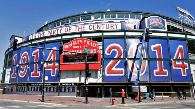 Wrigley Field Turns 100 Wednesday