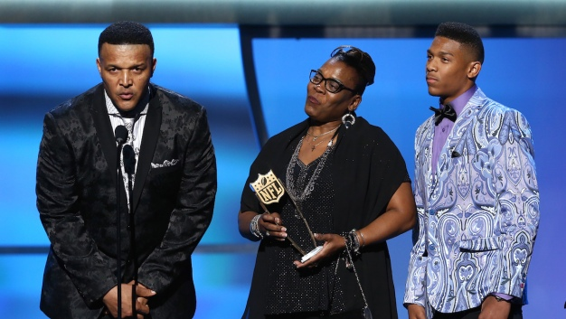 Cam Newton Crowned MVP at NFL Honors