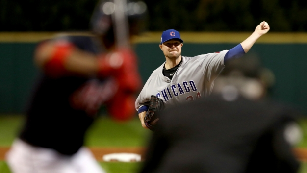Game Photos: Cubs, Indians in 2016 World Series