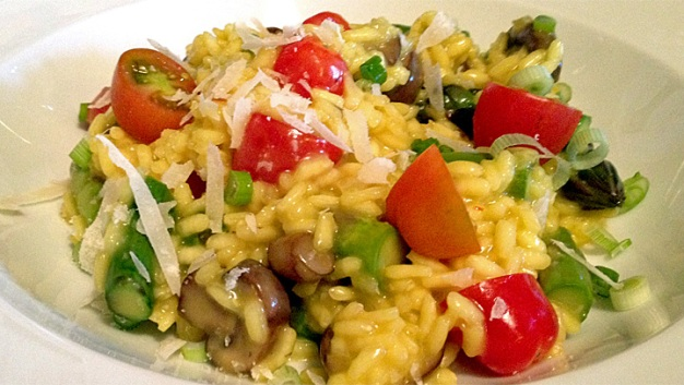 Wayne's Weekend: Summer Risotto