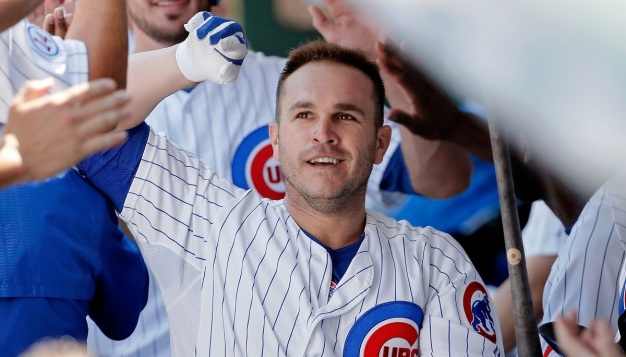 Cubs Place Miguel Montero on 15-Day Disabled List