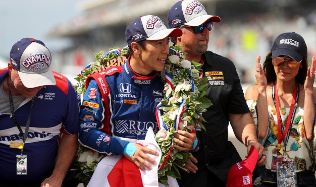 Reporter Tweets: 'Uncomfortable' at Japanese Indy 500 Winner