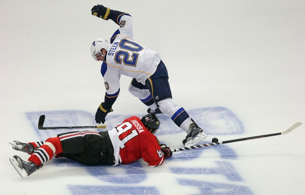 Blackhawks Hope Blues' History Repeats Itself