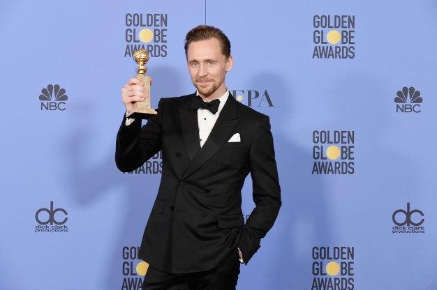 Sorry: Hiddleston Apologizes for 'Inelegant' Globes Speech