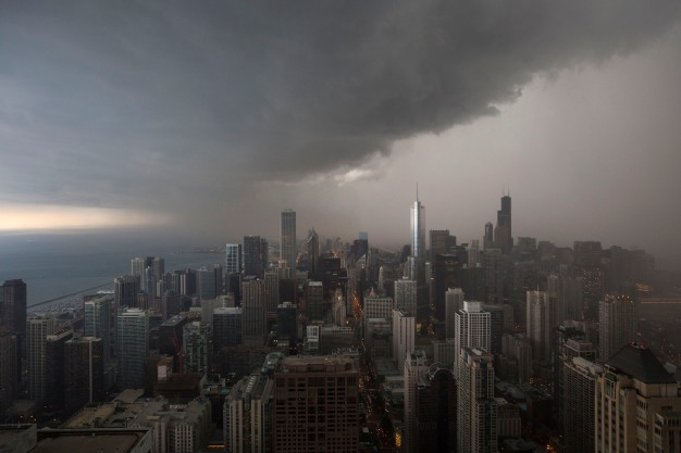 Threat of Severe Weather for Chicago Area Tuesday