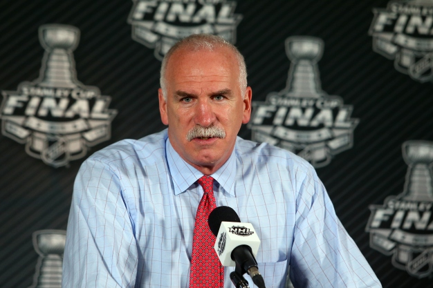 Joel Quenneville Storms Out of Press Conference