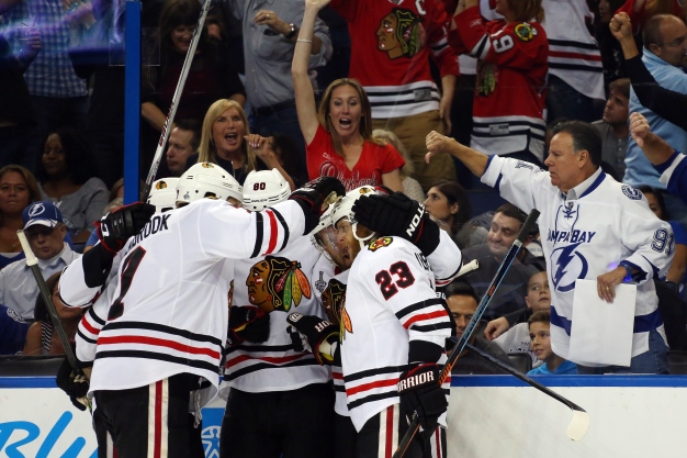 Blackhawks 1 Win Away From Cup