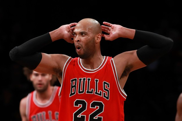 Bulls' Taj Gibson Sidelined by Left Ankle Soreness