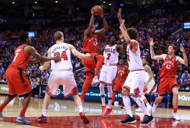 Raptors Beat Bulls 117-101 in Season Opener