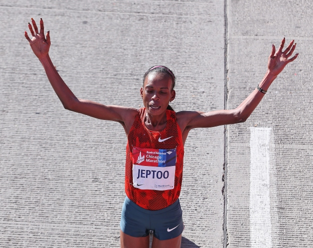 Chicago Marathon Winner Jeptoo Banned for 4 Years