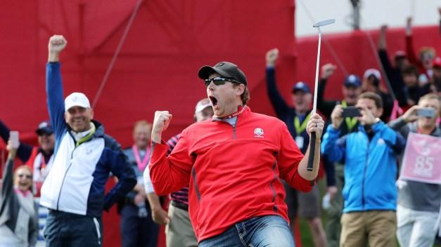 Ryder Cup: Heckler Sinks Putt McIlroy Missed