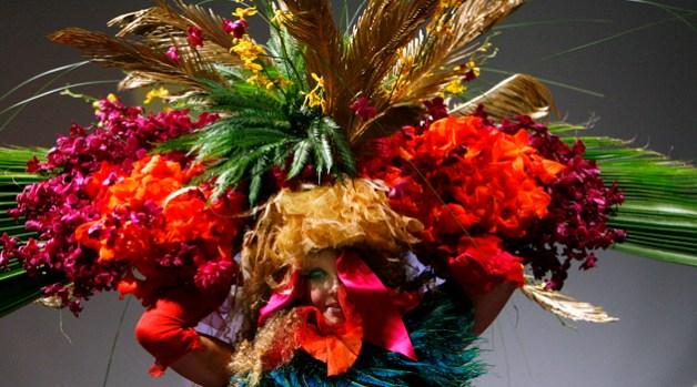 Tulips & Pansies: A Headdress Affair