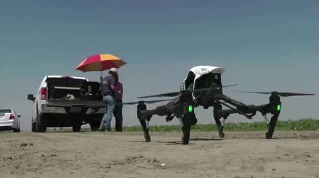 CA Farmers Use Drones to Battle Drought