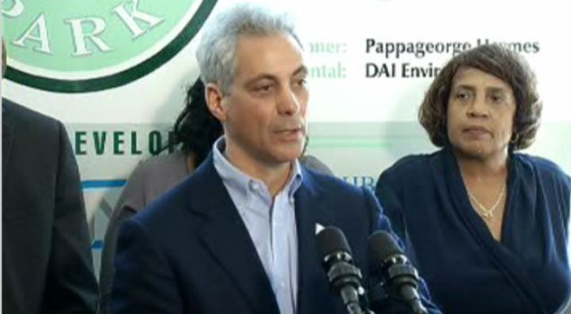 [CHI] Rahm Says Closing Schools is Lesser of Two Evils