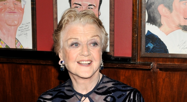 "Broadway Lights Up for Opening of ""Blithe Spirit"""