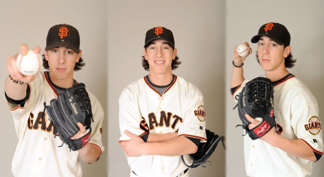 SF Giants Strike a Pose