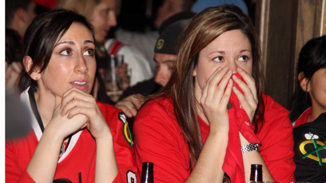 PHOTOS: Agony of a Hawks Defeat