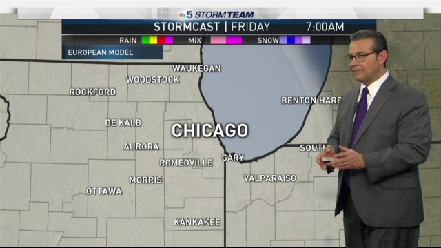 <p>NBC Storm Team 5 meteorologist Andy Avalos has your latest forecast update.</p>