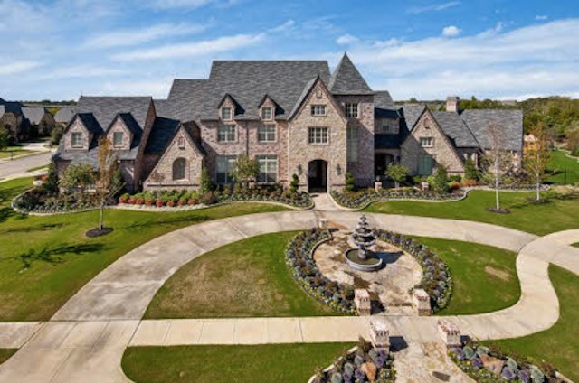 Dallas Cowboy Selling Palatial Estate