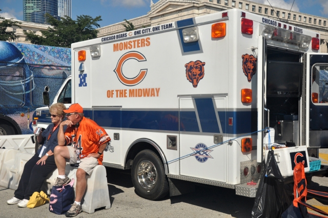 Bears Fans Know How To Party