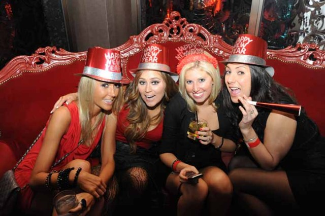 PHOTOS: NYE at Crimson Lounge