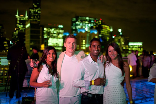 PHOTOS: EnV's Rooftop White Party