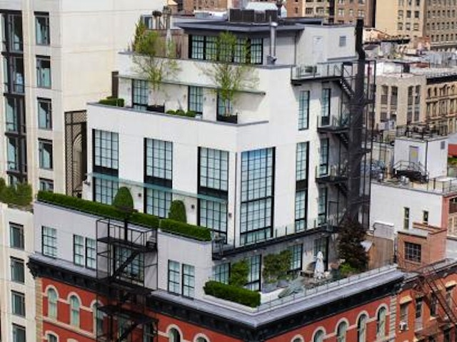An Extraordinary $28M Townhouse That's Also... a Penthouse?