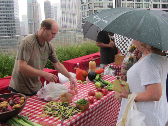 Trump's Farmer's Market in the Sky