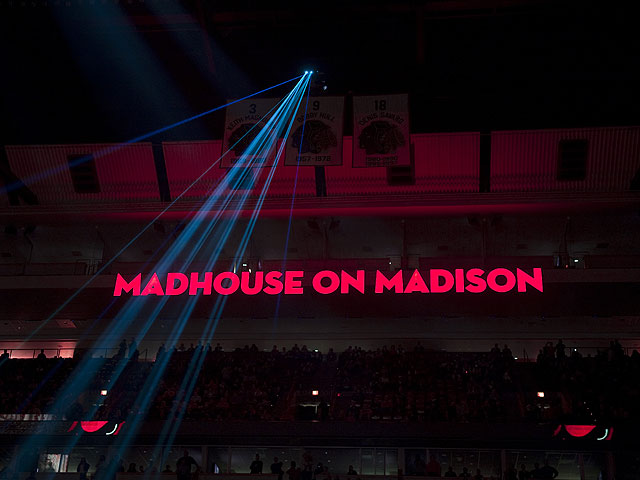 Inside the United Center's Madhouse on Madison