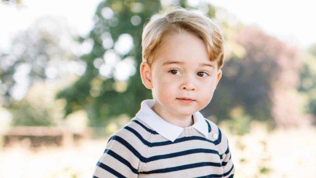 Prince William Says George Spoiled on Birthday