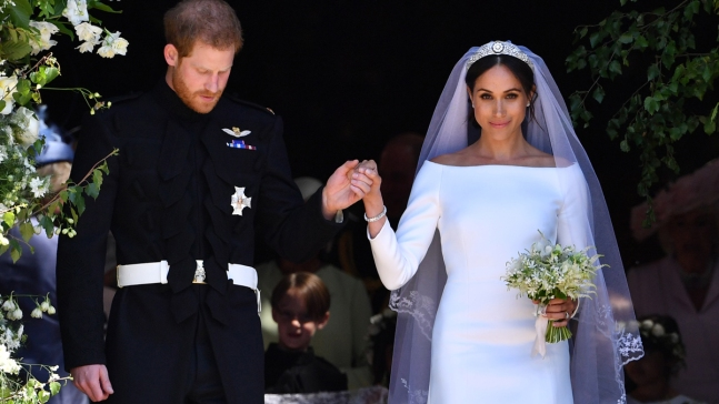 Meghan Reveals Her 'Something Blue' From Royal Wedding<br /><br />