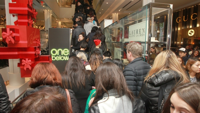 'Not as Crazy': Black Friday Shoppers Line Up for Deals