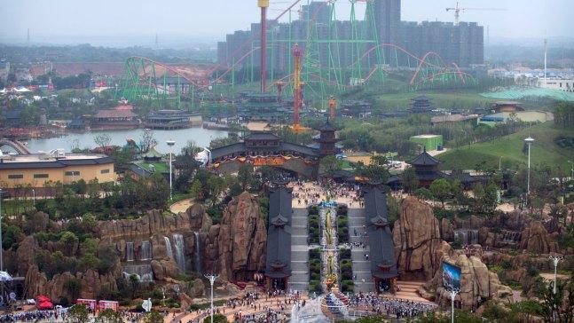Chinese Developer Opens Wanda City to Take on Disney