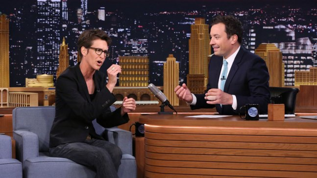'Tonight Show': Vacationing With Rachel Maddow