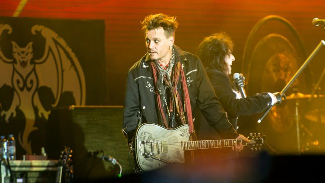 Johnny Depp Takes Stage in Portugal Amid Abuse Allegations