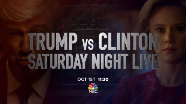 """""""Saturday Night Live"""" Returns With Political Face-Off"""