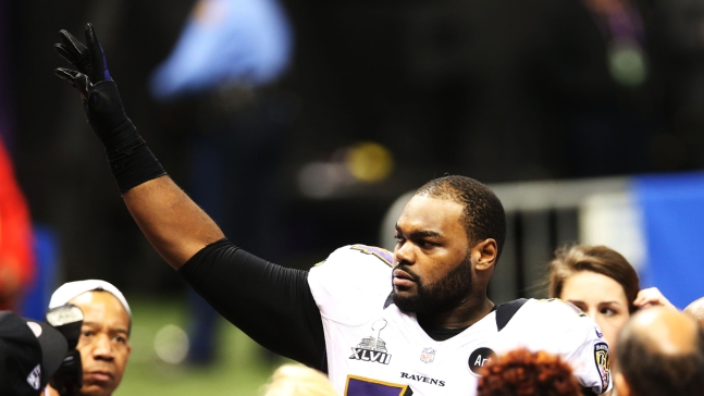 Michael Oher, 'The Blind Side' Subject, Released by Panthers