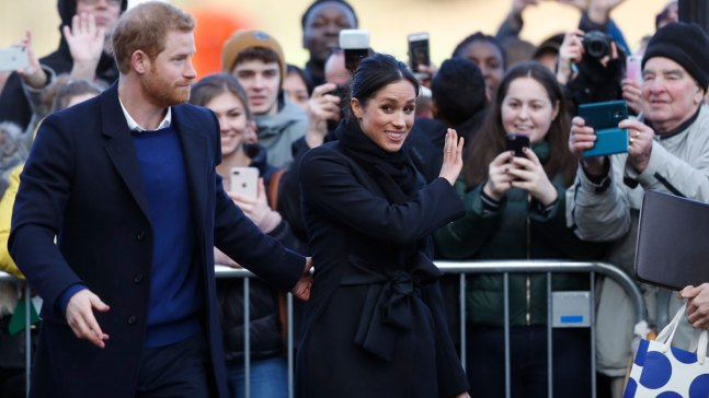 Prince Harry, Meghan Markel Visit Wales in Whirlwind Tour